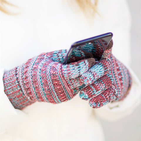 CC® Multi Color Touchscreen Gloves