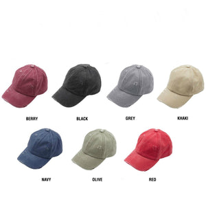 C.C® Three Level Pony Cap
