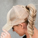 CC® Multi Level Crisscross Pony Trucker Cap