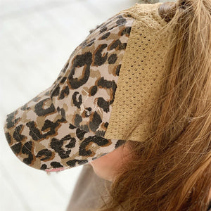 Extremely Comfortable CC Glove Fit Cap-Pony Tail