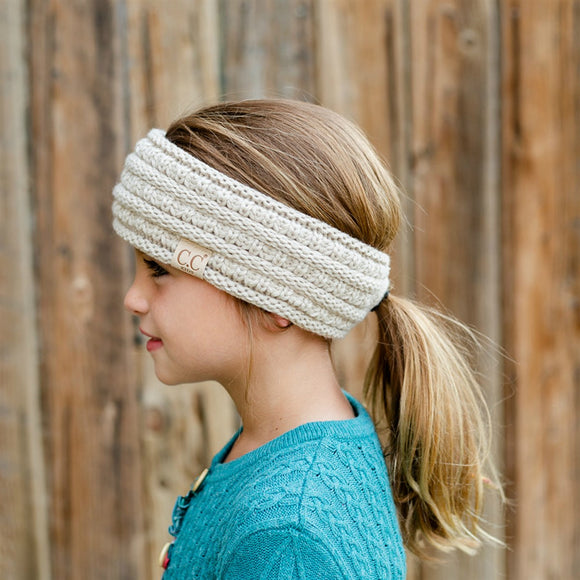 C.C® Kid's Head Band w/ Pony | Fits 2T-15/16 Sizes