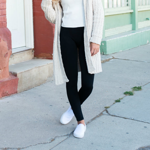 Double Fleece Lined Leggings | Extra Comfy