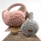 C.C® Cable Knit Earmuffs