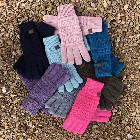 CC® Fleece Lined Touchscreen Gloves