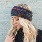 C.C® Multi Color Sherpa Lined Headwrap