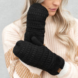C.C® Sherpa Lined Mittens | 2 Sizes