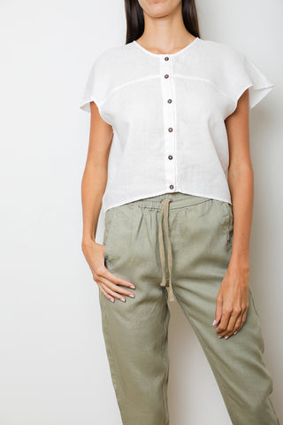 Artic Pant in Camel Linen