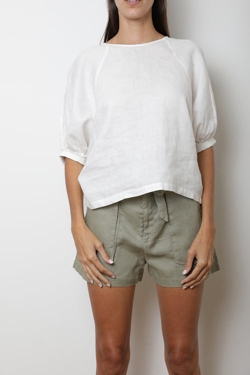 Jade Shorts - Khaki Green