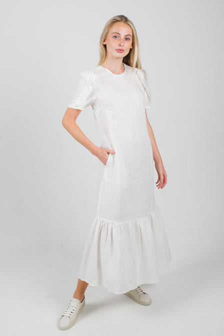 Clover Dress - White