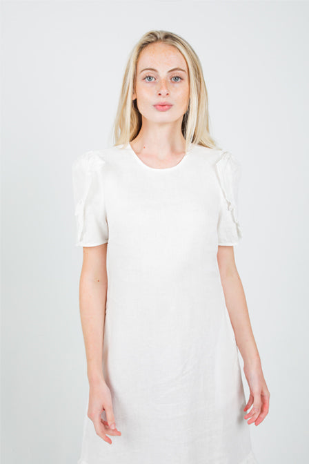Clover Dress - White <br> Maria Vazquez x Lanhtropy