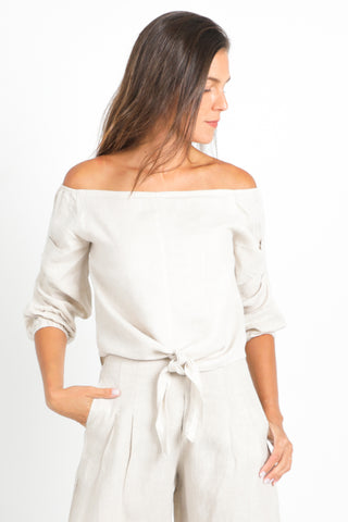 Knot Top - White