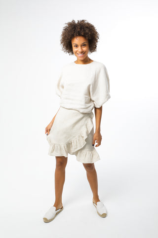 Mara Skirt - White