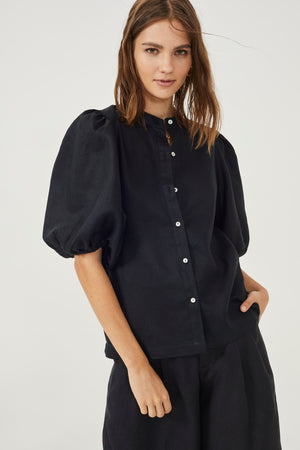 Bubble Shirt - Black