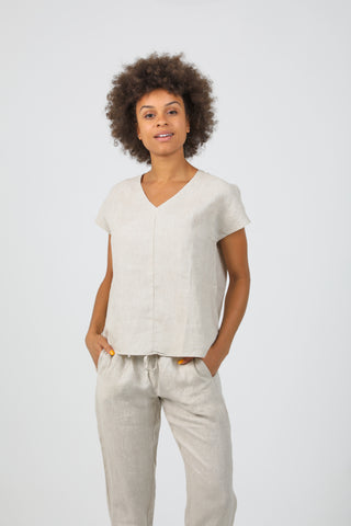 Rue Shirt Dress - Natural