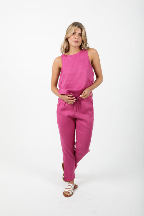Lotus Jogger Pant - Orchid