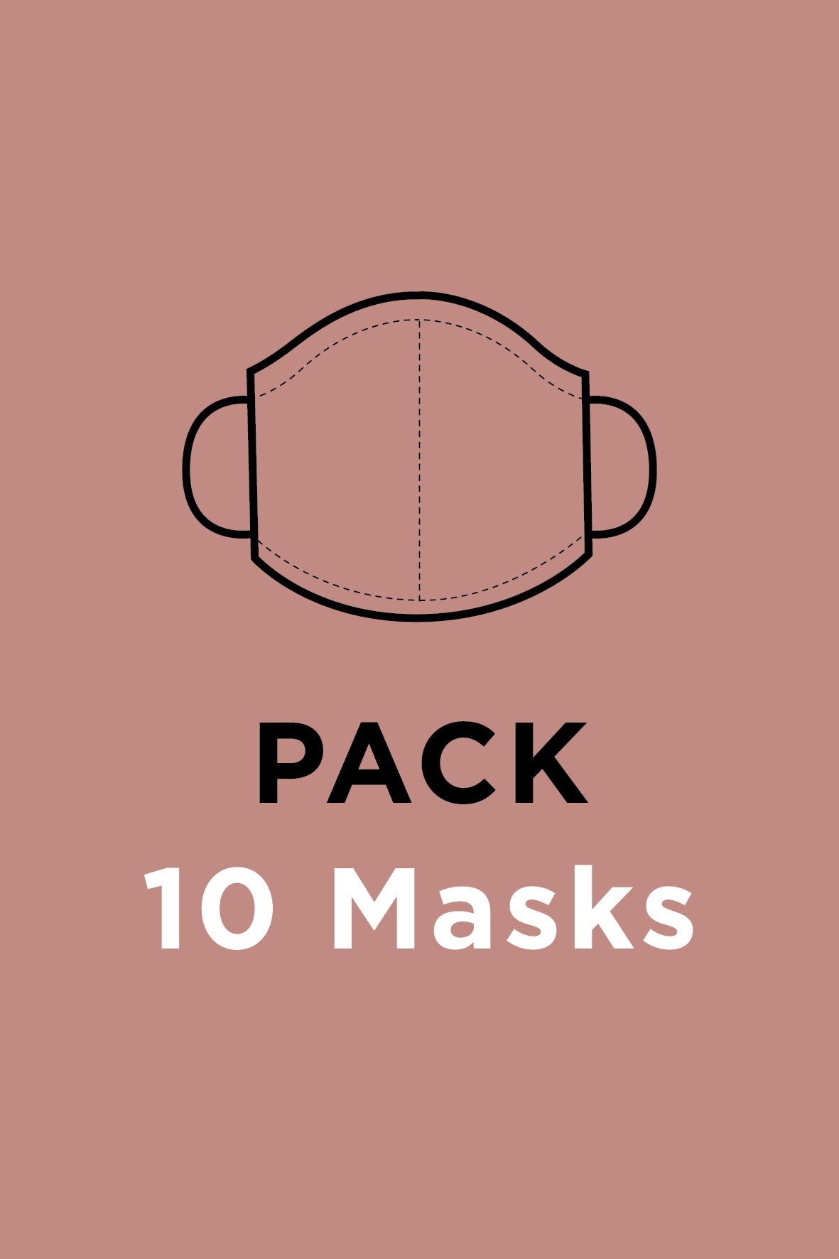 Face Masks <br> Pack of 10