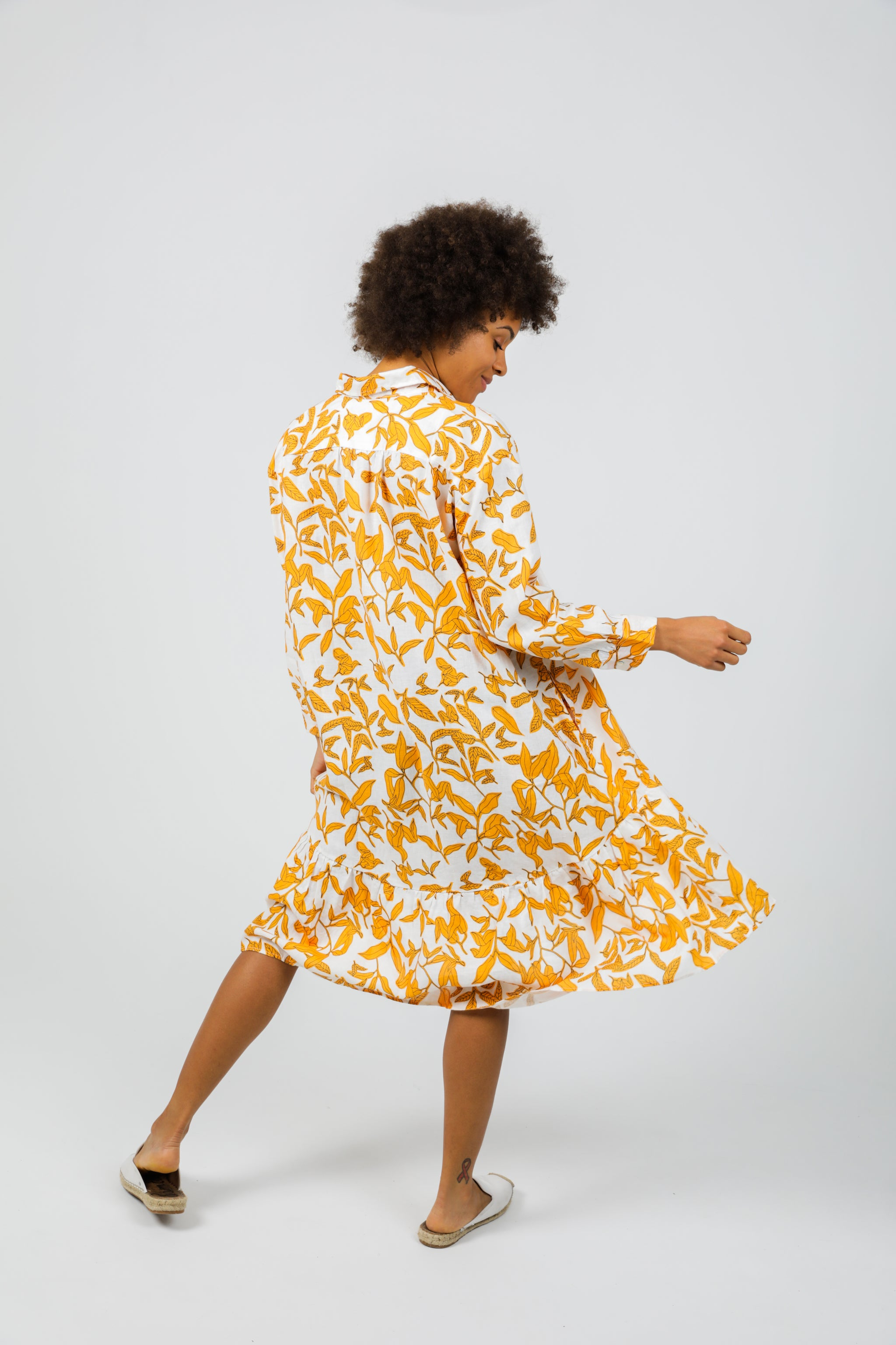 Lola Dress - Ginger Print