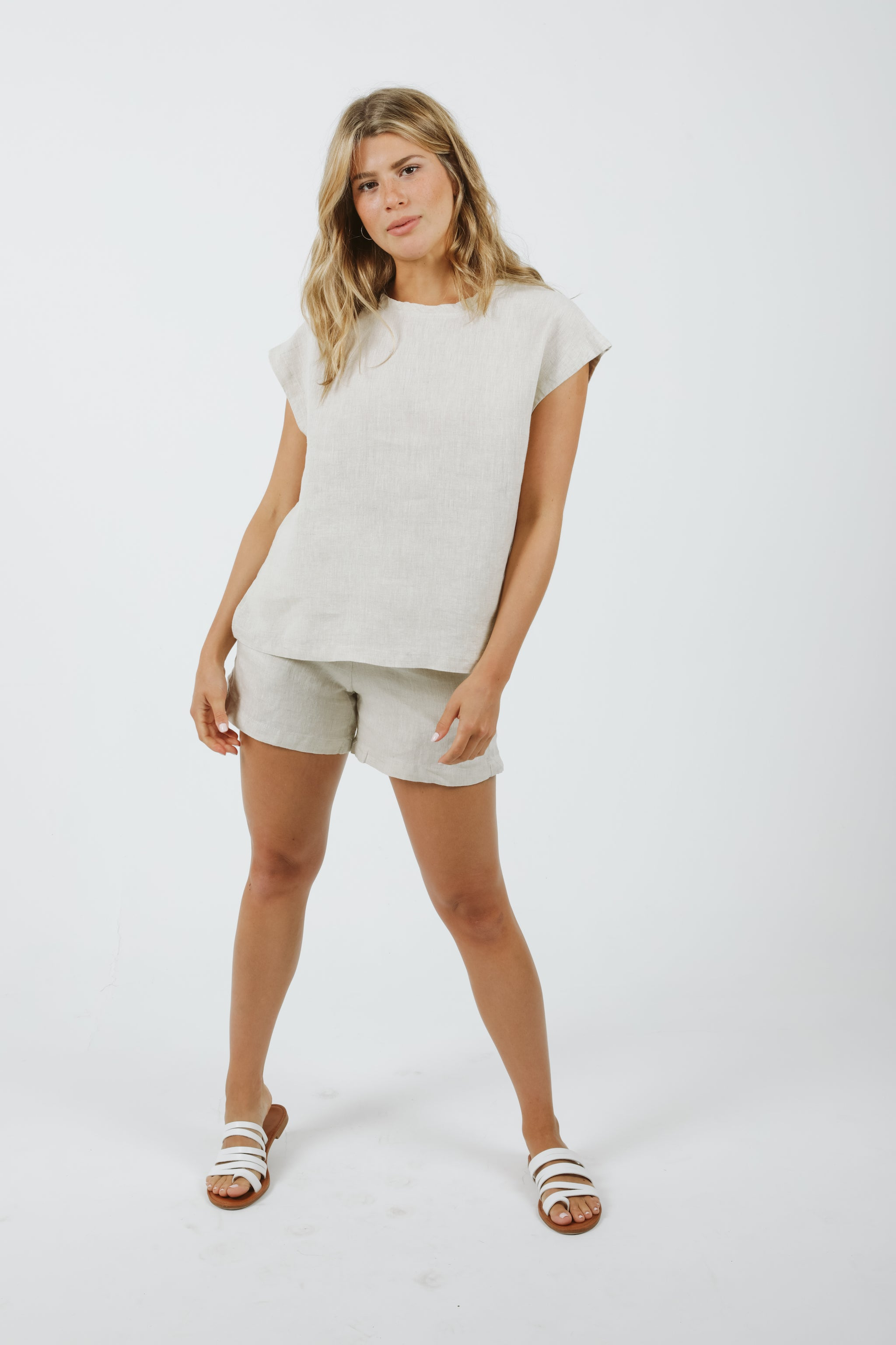 Lux Shorts - Natural
