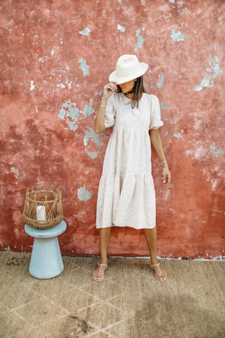 St Tropez Dress - Natural