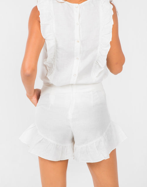 Sky Blouse - White