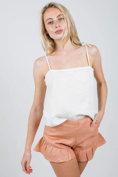 Loop Top - White <br> Maria Vazquez x Lanhtropy