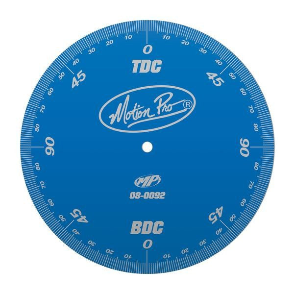 Motion Pro 08-0092 Degree Wheel, Engine Timing