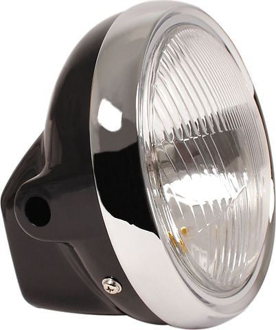 "Black Replacement 7"" Headlight"