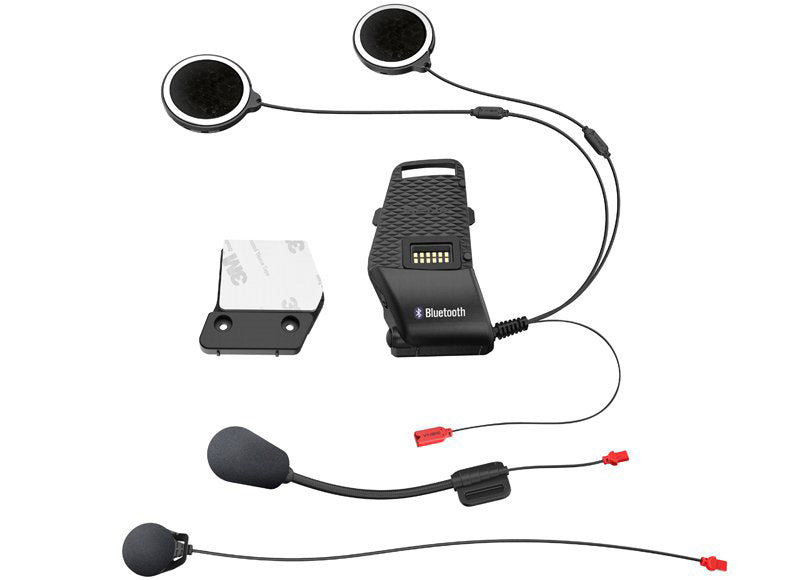 SENA 10S UNIVERSAL CLAMP KIT WITH MICROPHONES