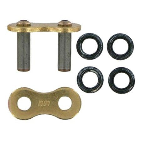 DID 520VMX Super Street X Ring Series Rivet Link (Gold)
