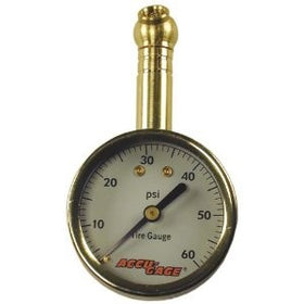 Accu-Gage swivel angel professional dial tire gauge