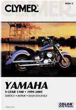 Clymer Manual Yamaha V-Star 1100 99-09 M281