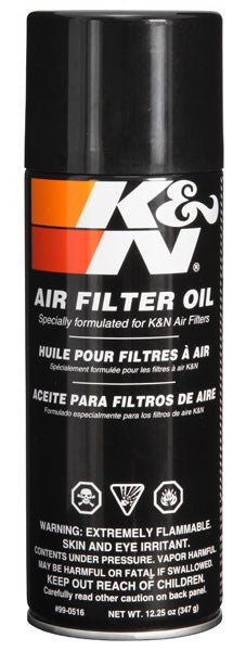 K&N Filtercharger Oil 12oz Spray Can