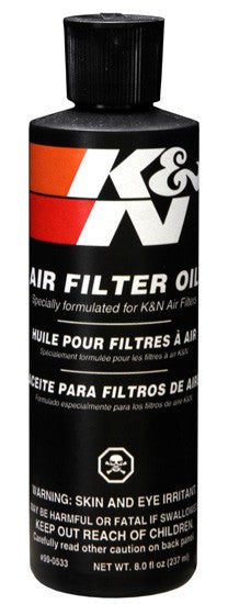 K&N Filtercharger Oil 8OZ Squeeze Bottle