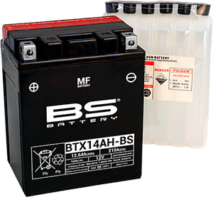 BS Battery YTX14AH-BS