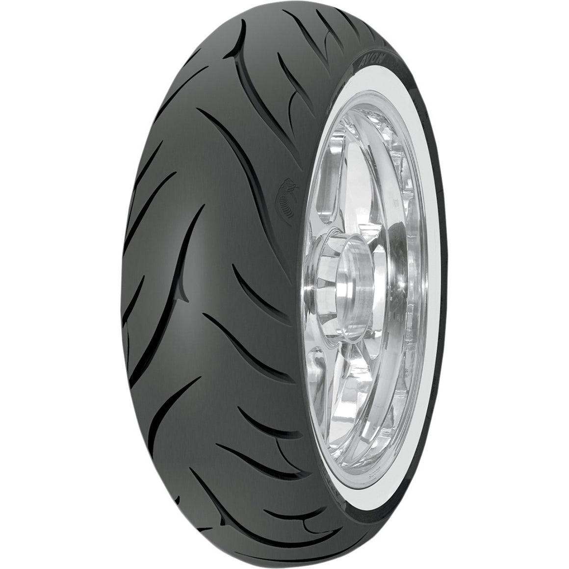 Avon Cobra White Wall AV72 MT90B16 (74H) Rear Tire