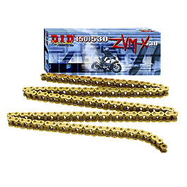 "DID 525ZVMX Super Street ""X"" Ring Series Gold)"