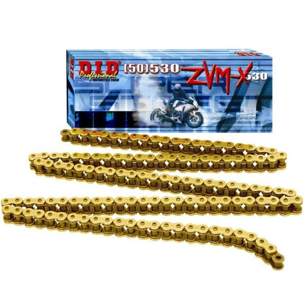 DID 530 ZVMX Gold Super Street X Ring Chain