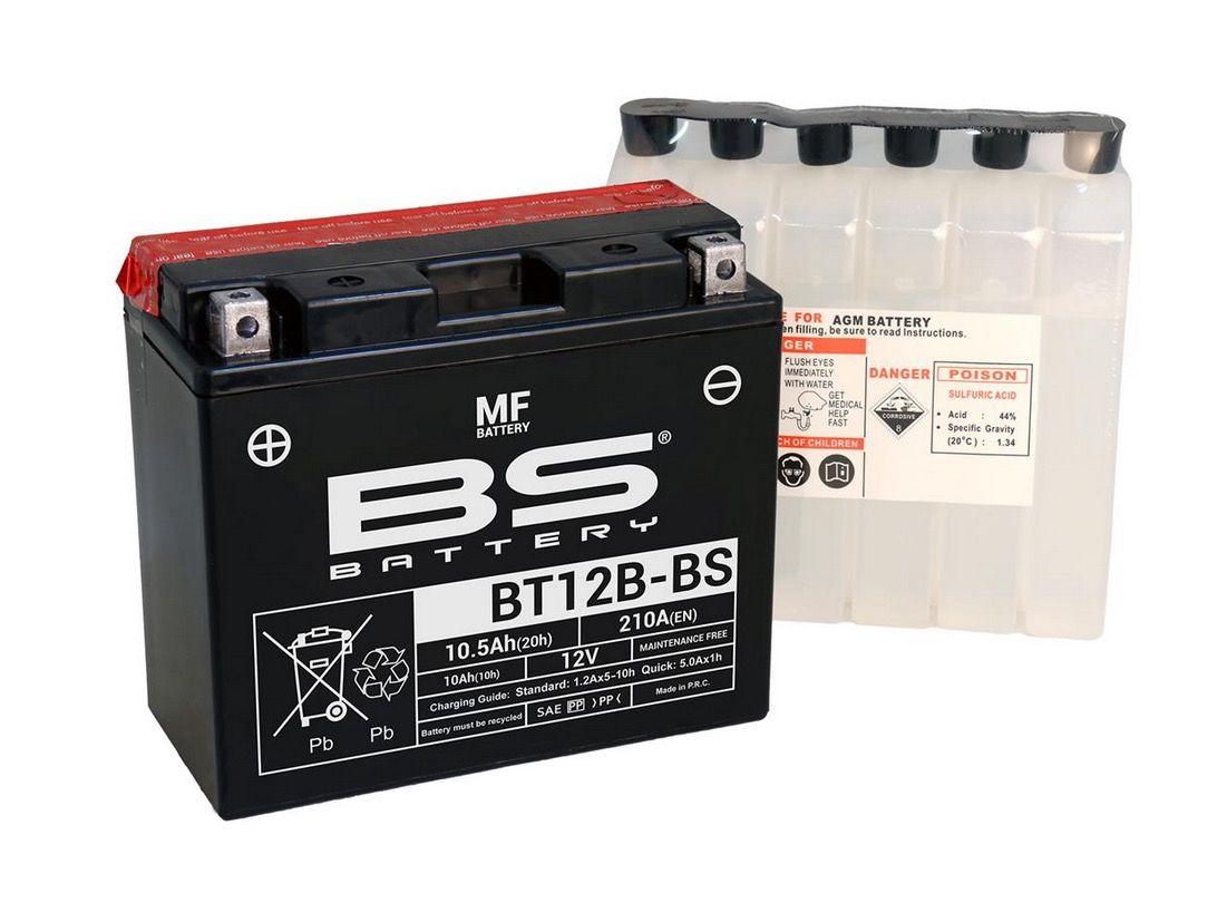 BS Battery YT12B-BS