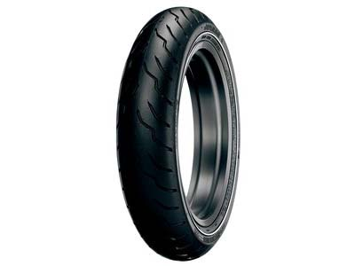 Dunlop American  Elite Narrow White Wall MT90B16 (Front)