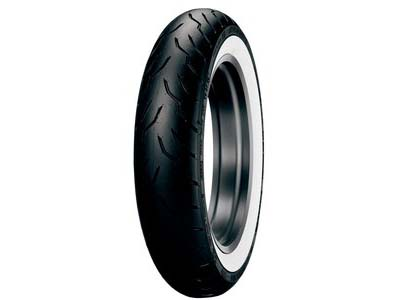 Dunlop American  Elite Wide White Wall 130/90B16 (Front)