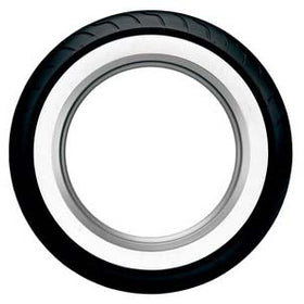 Dunlop American  Elite Wide White Wall 180/65B16 (Rear)