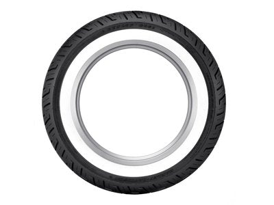 Dunlop D401 Wide White Wall 150/80B16 (Rear)