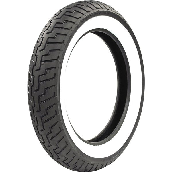 Dunlop D404 Wide White Wall140/80 17 (Front)