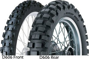 Dunlop D606 Dualsport 130/90-17 (Rear)