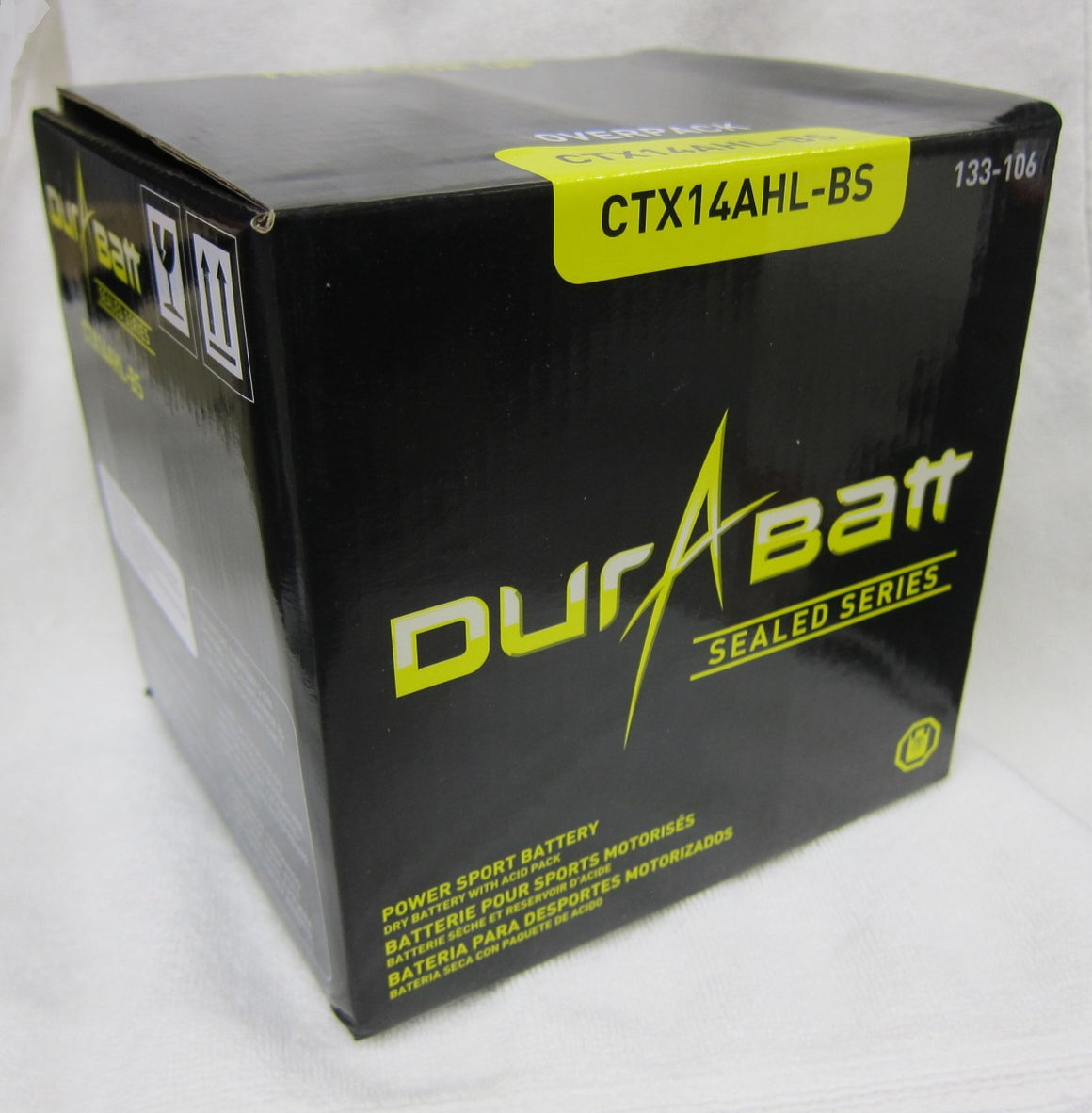 Durabatt YTX14AHL-BS Battery