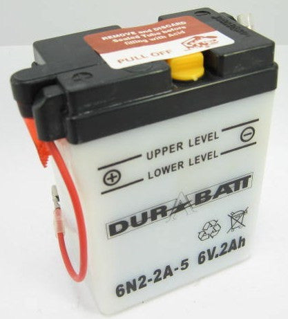 Durabatt 6N2-2A-5 6 Volt Battery