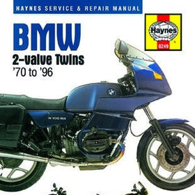 Haynes BMW 2-valve Twins Repair Manual for 1970 thru 1996
