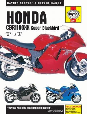Honda CBR1100XX Super Blackbird Haynes Repair Manual