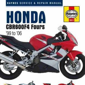 Honda CBR600F4 Fours Haynes Repair Manual from 1999 to 2006