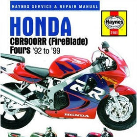 Honda CBR900RR Fireblade Haynes Repair Manual for 1992 to 1999